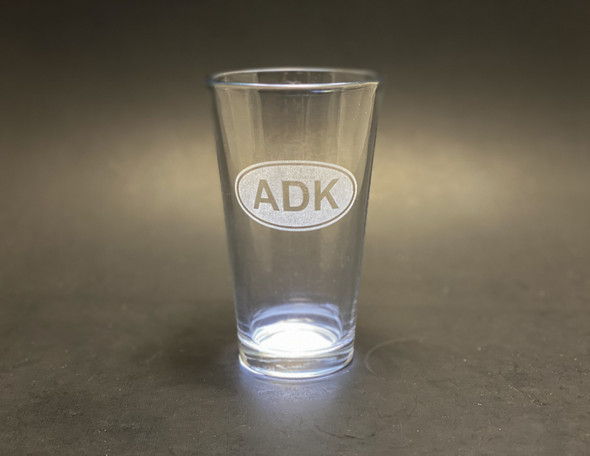 ADK oval - Pint Glass