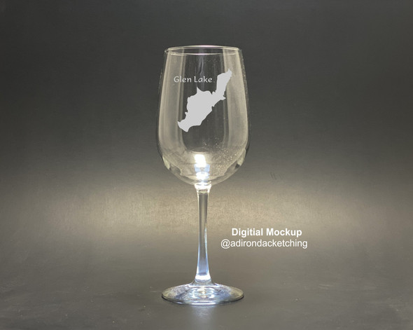 Glen Lake - Stemmed Wine Glass  18.5 oz