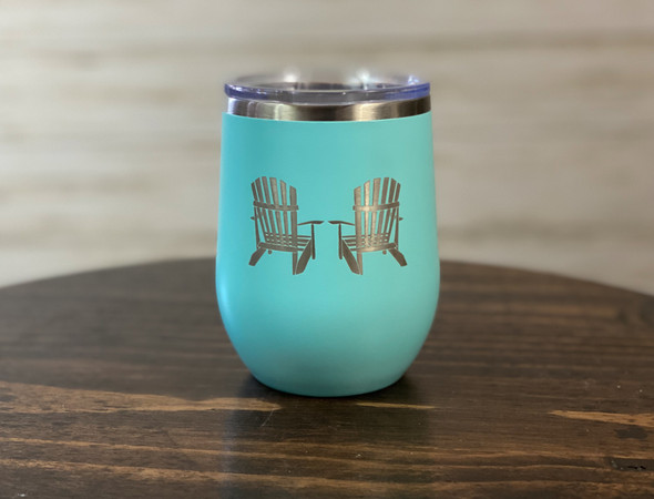 Adirondack Chairs - 12 oz Insulated Tumblers