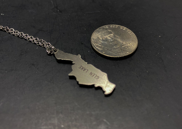 Glen Lake Stainless Steel Necklace