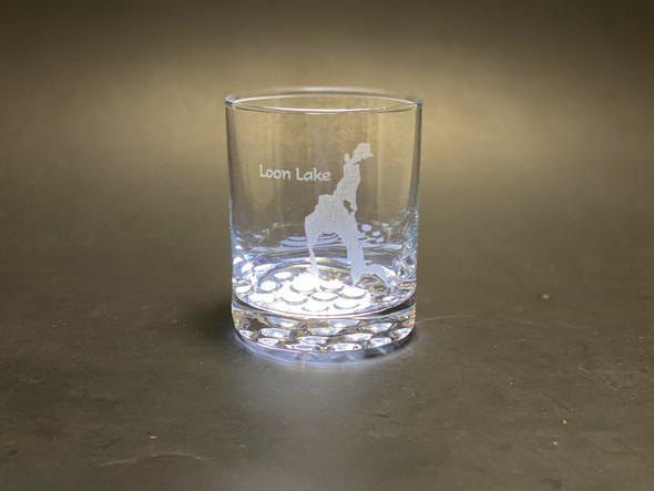 Loon Lake  - 12.25 oz Double Rocks Glass