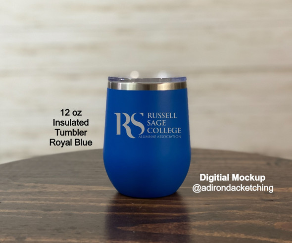 Russell Sage Alumnae -  New Logo - 12 oz  Insulated Tumbler