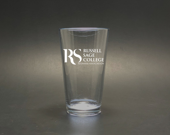 Russell Sage Alumnae - New Logo - Pint Glass