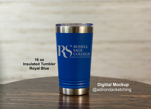 Russell Sage Alumnae - New Logo - 16 oz Polar Camel Insulated Pint