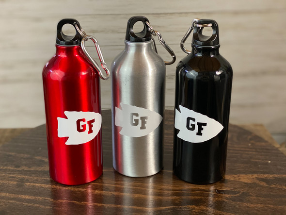 Gf Arrowhead Aluminum Water Bottle