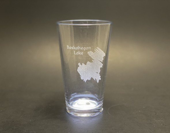 Baskahegan Lake - Maine - Pint Glass