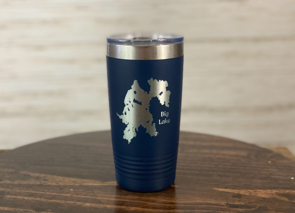 Big Lake Maine - 20 oz  Insulated Tumbler