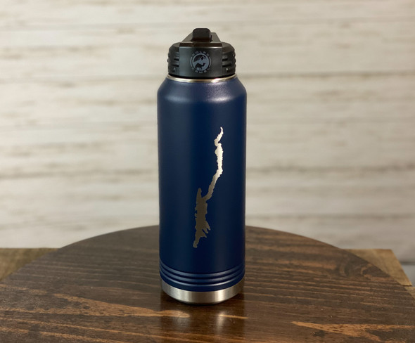 Lake George - 32 oz Insulated Water Bottle