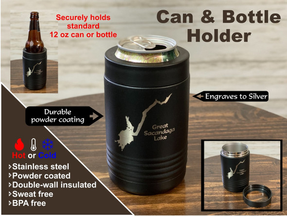 Fish Creek Ponds - Insulated Can and Bottle Holder
