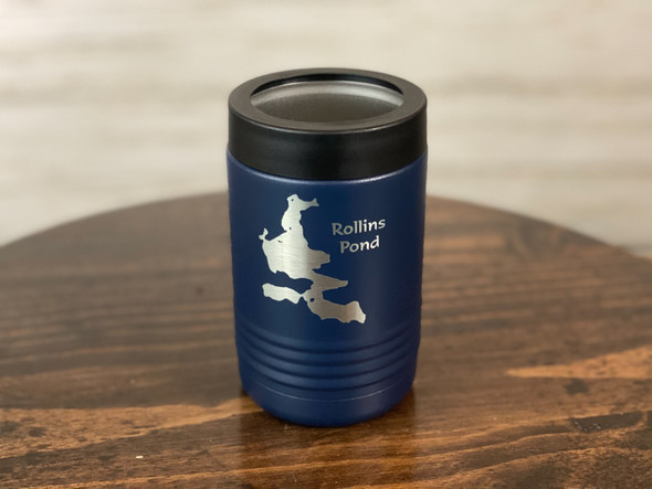 Rollins Pond - Insulated Can and Bottle Holder