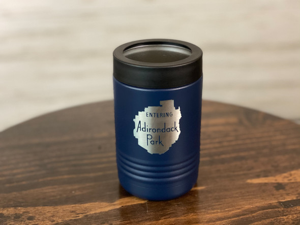 Entering the Adirondack Park sign - Insulated Can and Bottle Holder