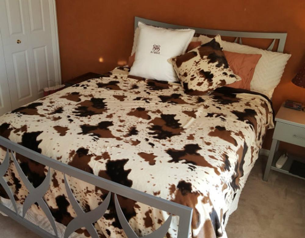 Wild Mustang Queen Sized Blanket.