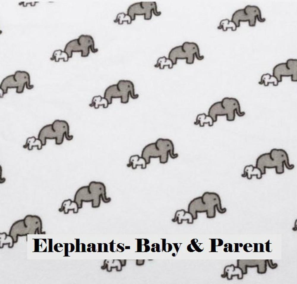 Elephant & Baby - Blanket
