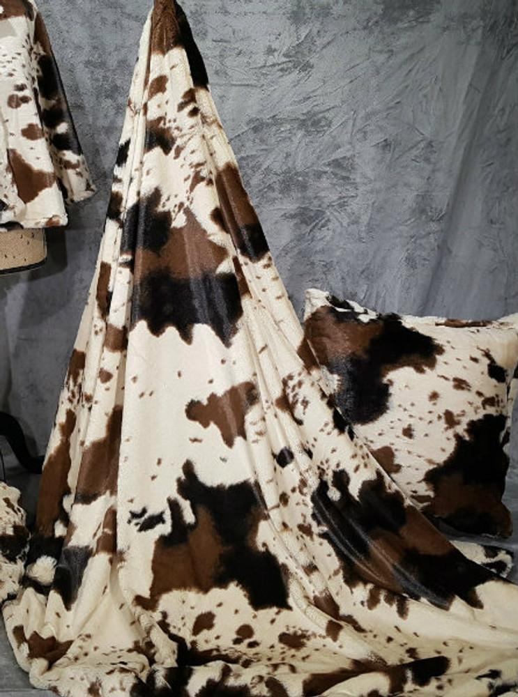 "*Wild Mustang - 50""x 60"" Blanket, Divine Fabric *QS"
