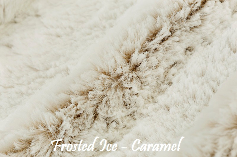 """A Frosted Ice, Caramel color. 52"""" Wrap *DEAL"""