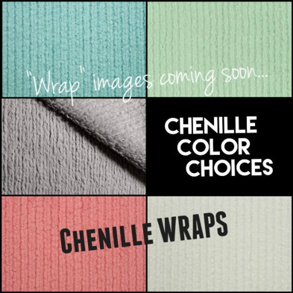 Saltwater, Green Apple, Steel Gray, Paris Pink & Antique White