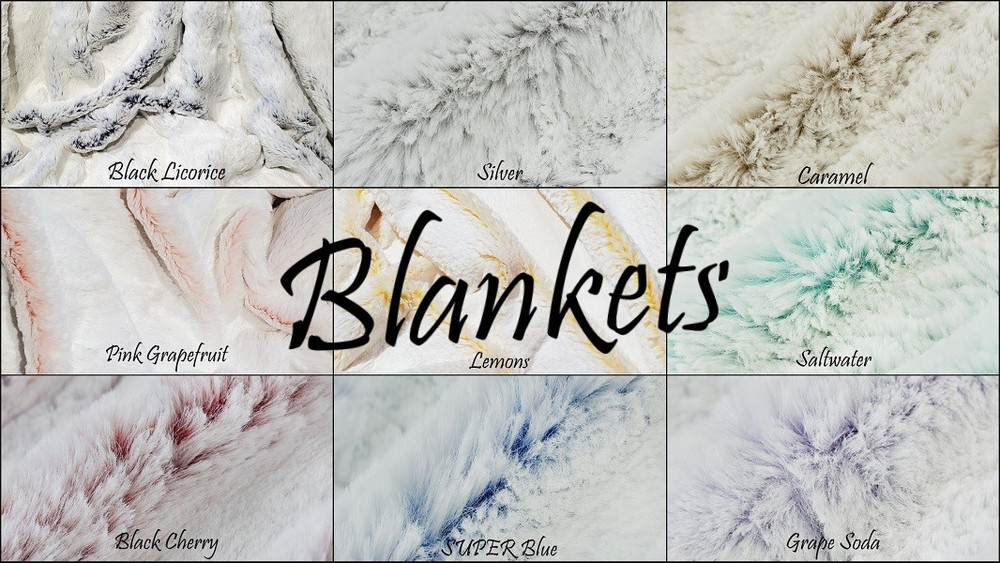 Frosted Ice - Blankets
