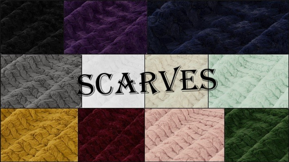 HOOKED: Scarf or Infinity Scarf