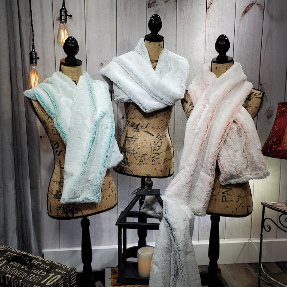 Frosted Ice: Scarf or Infinity Scarf