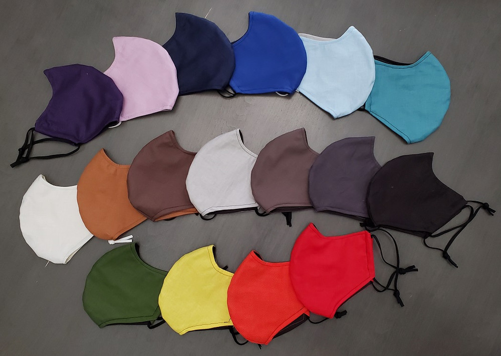 SOLID COLORS - Face Mask