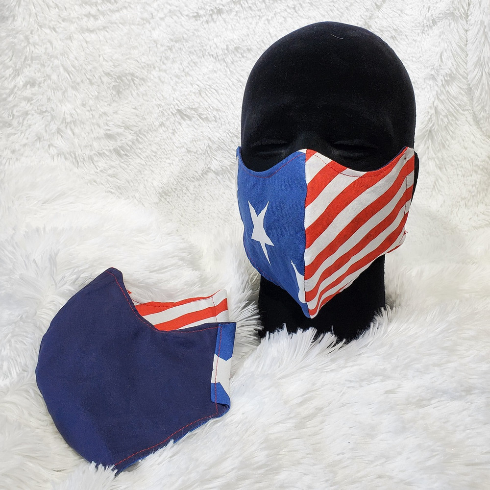 American Super Hero with Navy back