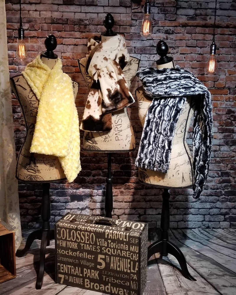 """A 90"""" Scarf in Wild Mustang *DEAL"""