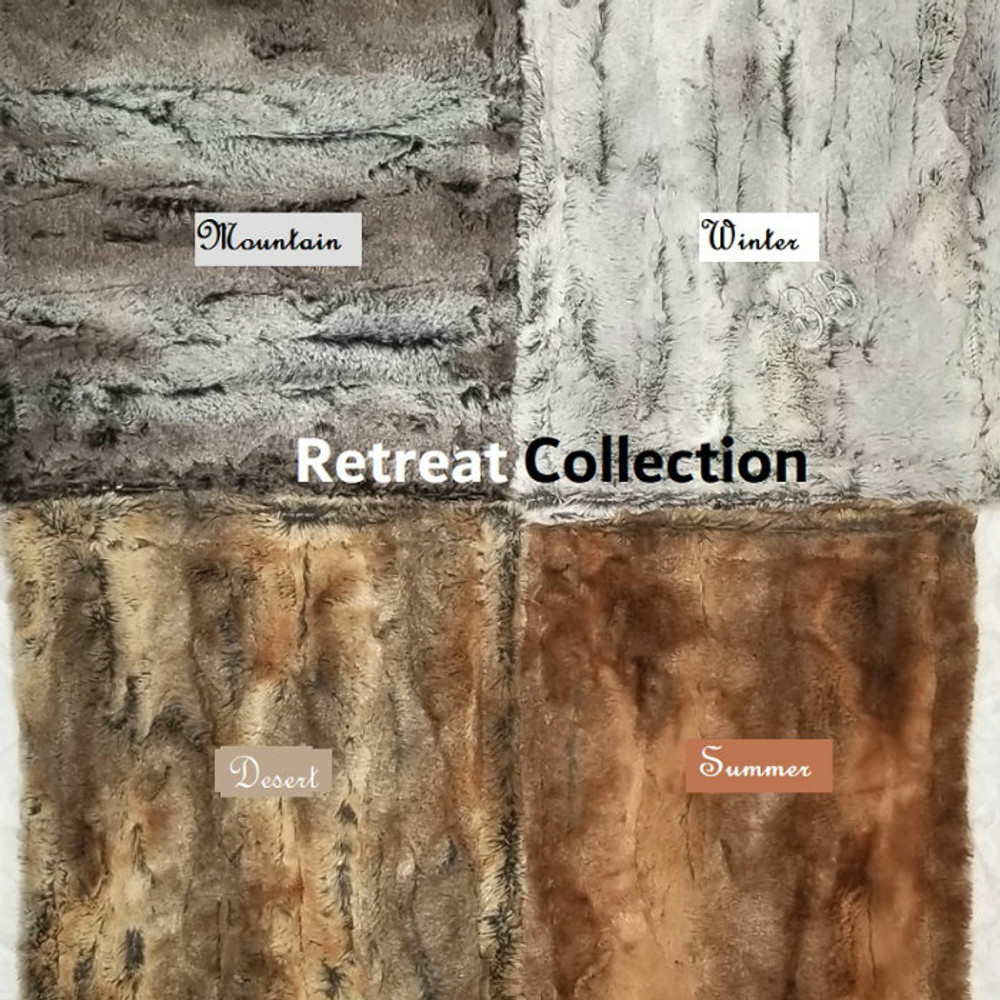 """Here are the other options in the """"Retreat Collection"""""""