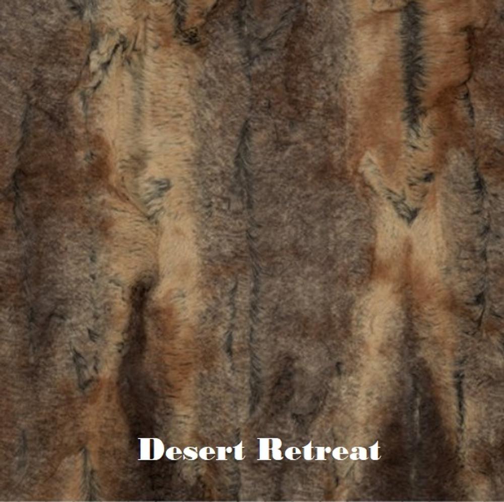 """A 30""""x42"""" Desert Retreat Blanket, w/DIVINE Fabric *DEAL"""