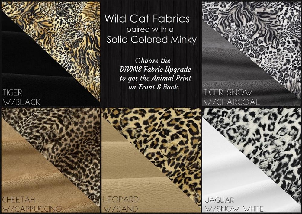Wild Print Travel Blanket