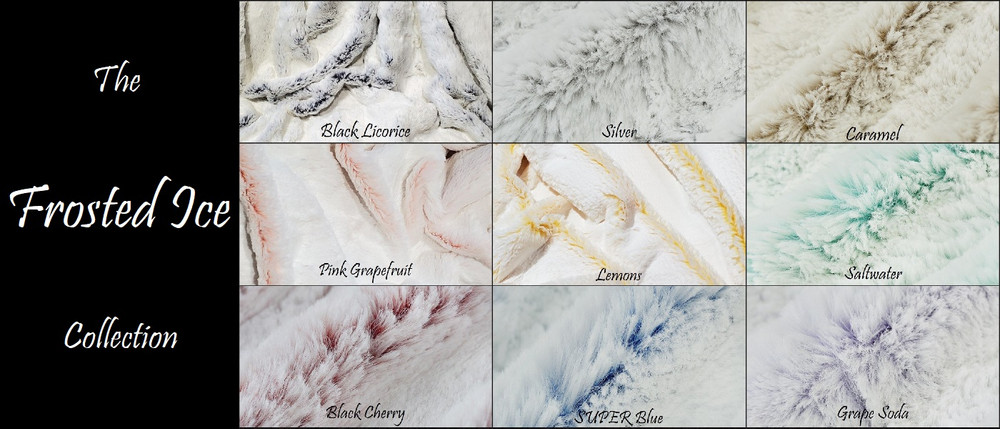 Frosted Ice: Pillow Cover