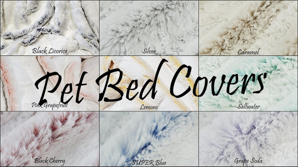 Frosted Ice: Pet Bed Cover