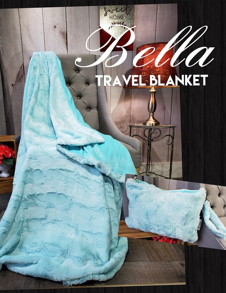 Example of a Travel Blanket.