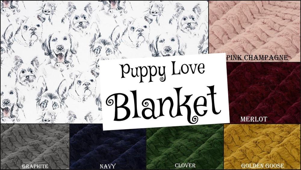 Puppy Love - Blanket