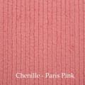 "*Chenille - Paris Pink:  30""x40"" Blanket *QS"