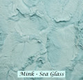 "*MINK: Sea Glass-50"" x 60""  Blanket *QS"
