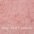 *Pink Grapefruit Shag Blanket *QS