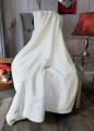 """A 32""""x45"""" Chinchilla Antique White, w/DIVINE Fabric *DEAL"""