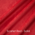 A Red Roses Travel Blanket, w/Red back *DEAL