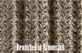 """A 53""""x 60"""" Bewitched Brown Blanket w/DIVINE upgrades *DEAL"""