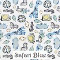 Safari Blue & Pink Wrap