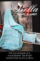 Elephant March - Travel Blanket