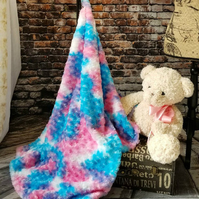 "*Roses - Cotton Candy:  30""x40"" Blanket *QS"