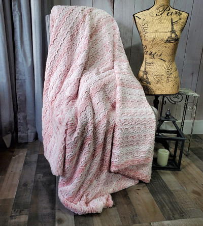 """A Bewitched Pink Lemonade 50"""" x 60"""" Blanket"""