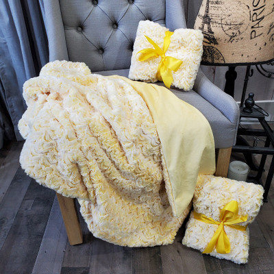 "A Bewitched Yellow 30""x40"" Blanket *DEAL"