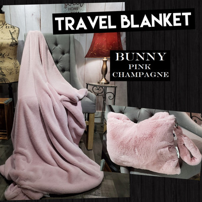 BUNNY - Travel Blanket