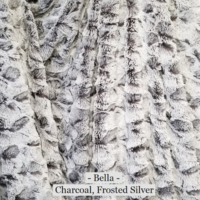 """A Charcoal & Frosted Silver 60""""x40"""" Blanket *DEAL"""