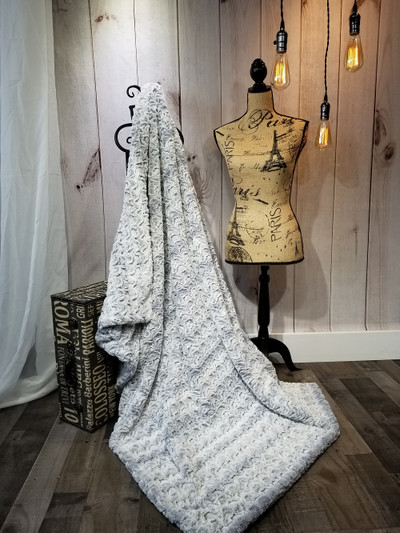 """A 50""""x 60"""" Bewitched Gray Blanket w/DIVINE upgrades *DEAL"""