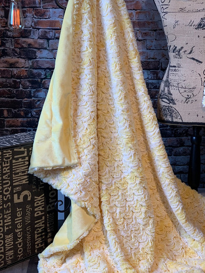 A Bewitched Yellow Travel Blanket *DEAL