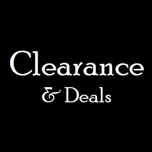 CLICK for Clearance Items & more...