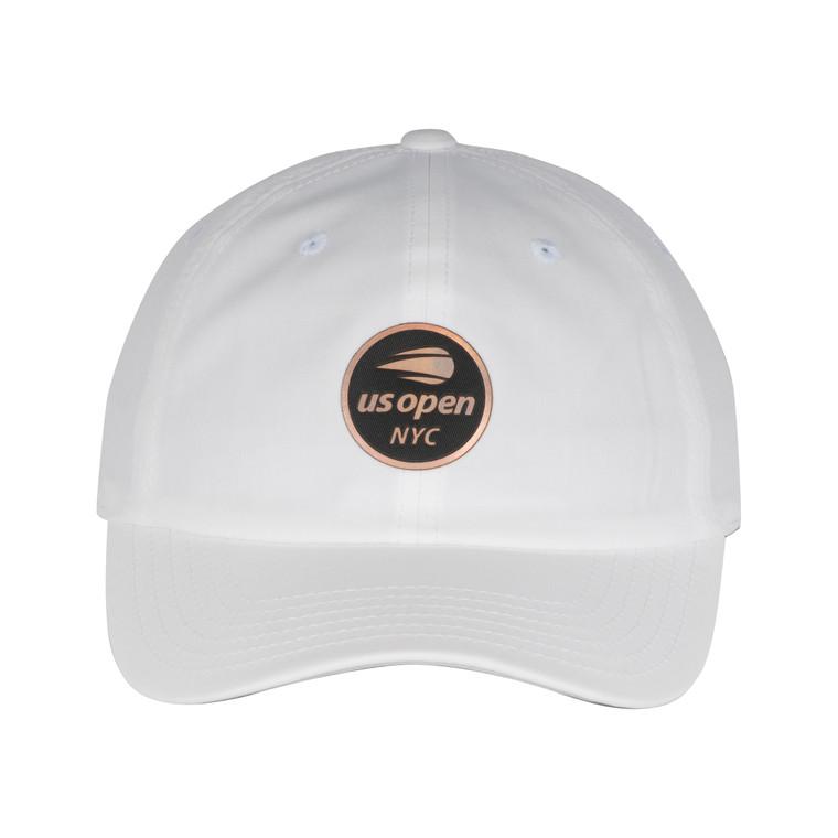 Men's Reflector Adjustable Hat - White